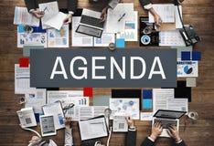 Agendy analizy Ewidencyjnych dokumentów pojęcie Obrazy Stock