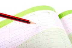 agendy planowanie Obrazy Stock