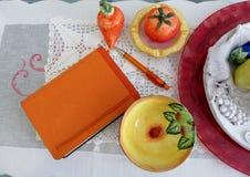 Agendy pomarańcze Obrazy Royalty Free
