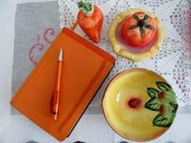 Agendy pomarańcze Obraz Royalty Free