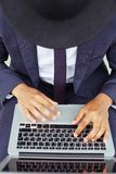 Agent computing Royalty Free Stock Photography