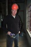 Agent de maîtrise de construction images stock