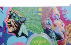Agent de réservations T Washington High School Painting Photos stock