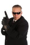 Agent du CIA. photographie stock