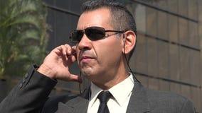 Agent FBI Lub Nsa Obraz Stock