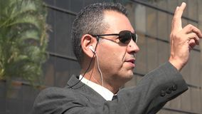 Agent FBI Lub Nsa Fotografia Royalty Free