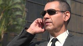 Agent FBI Lub ochrona Zdjęcie Royalty Free