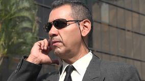 agent FBI Lub ochrona oficer Obrazy Stock