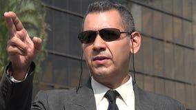 agent FBI Lub tajna służba Zdjęcia Royalty Free
