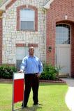 Agent immobilier photos libres de droits