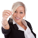 Agent immobilier réel Image libre de droits