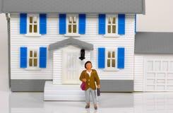 Agent immobilier réel photo libre de droits