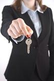 Agent immobilier réel images stock