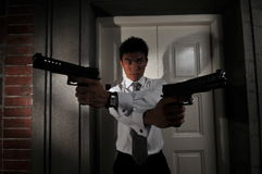 Agent/ Killer 111 royalty free stock photo