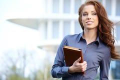 Agent Nieruchomości kobieta Fotografia Royalty Free