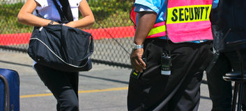 Agent ochrony przy pracą Zdjęcia Stock
