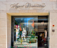 Agent Provocateur Retail Store Exterior Royalty Free Stock Photo