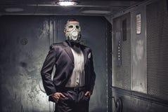Agent secret, terroriste ou homme d'affaires d'apocalypse ? image libre de droits