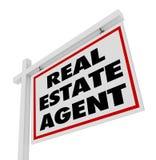 Agent Sign Advertising Agency de Real Estate illustration libre de droits