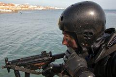 Agent specjalny wydziałowy przeciwawaryjny terroryzm Zdjęcia Royalty Free