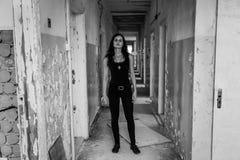 Agent w korytarzu Fotografia Stock