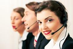 agenta centrum telefoniczne Zdjęcie Royalty Free