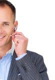 agenta zamknięta klienta słuchawki usługa zamknięty używać Zdjęcie Stock