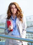 Agente atractivo Woman Imagen de archivo libre de regalías