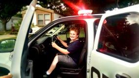 Agente da polícia adiantado Program Imagens de Stock