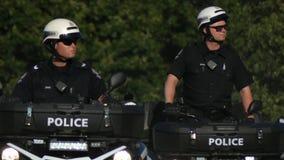 Agente da polícia canadense no atv do dever filme