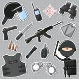 Agente da polícia especial Fotografia de Stock Royalty Free