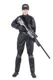 Agente da polícia fêmea Fotos de Stock