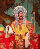 Agente de la ópera de Pekín Foto de archivo