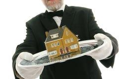 Agente de la propiedad inmobiliaria Fotos de archivo
