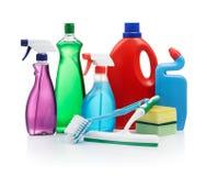 Agente de limpeza Fotografia de Stock Royalty Free