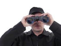 Agente de segurança imagens de stock