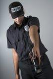 Agente de seguridad Foto de archivo libre de regalías