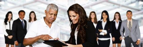 Agente de seguros fêmea Fotografia de Stock Royalty Free