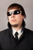 Agente de serviço secreto Fotografia de Stock