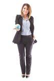Agente de viagens latino com uma luva Imagem de Stock Royalty Free