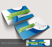 Agente de viajes Business Card Fotos de archivo