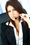 Agente della call center fotografia stock