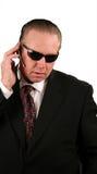 Agente di servizio segreto Fotografie Stock Libere da Diritti
