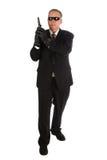 Agente di servizio segreto. Fotografie Stock
