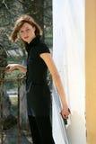 Agente fêmea secreto Fotografia de Stock