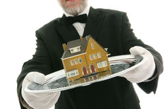 Agente immobiliare Fotografie Stock