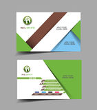 Agente immobiliare Business Card Immagini Stock