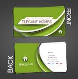 Agente immobiliare Business Card Fotografia Stock Libera da Diritti