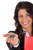 Agente immobiliare femminile Fotografia Stock Libera da Diritti