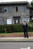 Agente immobiliare, uomo di affari, serie Fotografia Stock